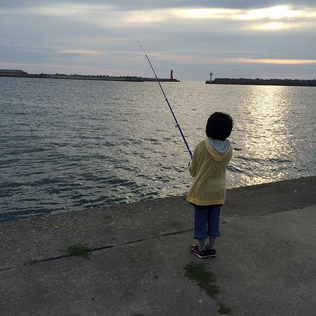 紋別朝釣り